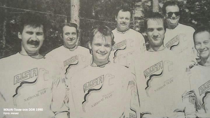 DDR-Team 1990